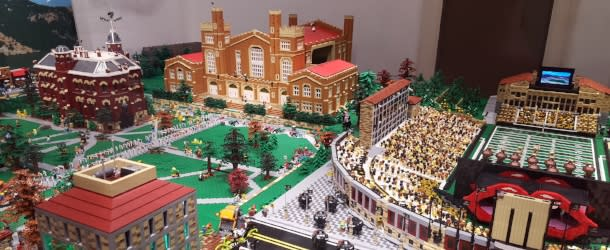 Hit the Bricks CU Lego Exhibit