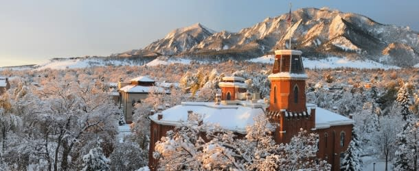University of Colorado Boulder winter