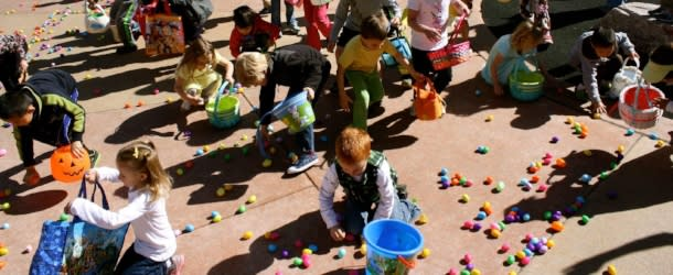 Grandrabbits Easter Egg Race Boulder