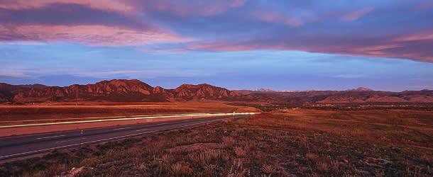 Highway 36 Boulder