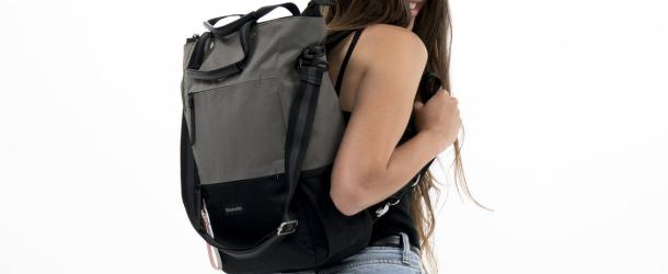 Girl wearing the Camden Bag from Sherpani
