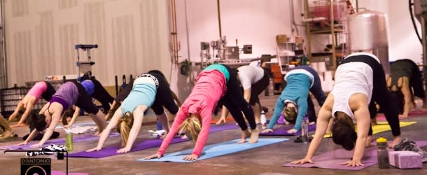Jenna Bee Brewhouse Yoga Boulder