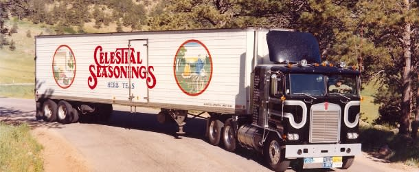 Celestial Seasonings Truck