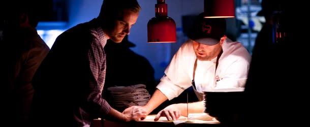 Blackbelly Chef Hosea Rosenberg at Work