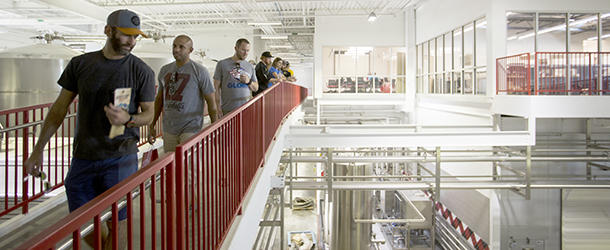 Avery Brewing Facility Tour