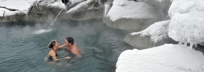 Winter in Fairbanks at Chena Hot Spring Resort