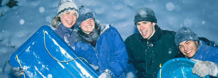 Winter in Fairbanks Alaska - Outdoor recreation