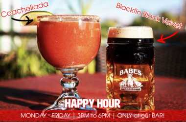 Happy Hour in Greater Palm Springs