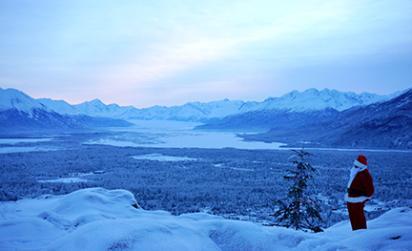 Santa glacier