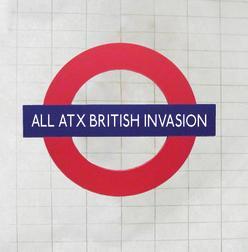 ALL ATX British Invasion Booklet Cover. Courtesy of Austin CVB.