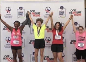 Angie Jepsen Wins Bronze, National Senior Games 2019