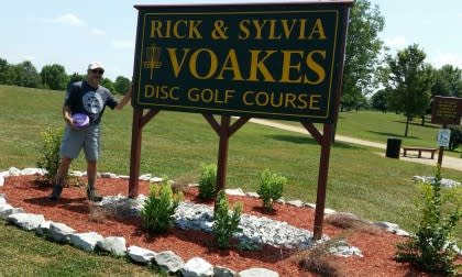 Voakes Disc Golf Course in Bowling Green