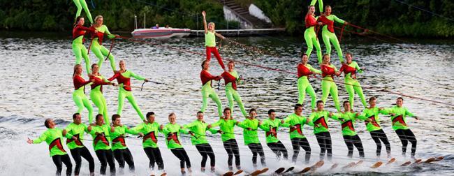 Ski Broncs Water Ski Show Team