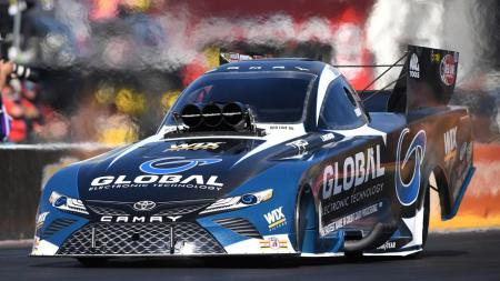 Shawn Langdon's Funny Car (Photo Courtesy of the NHRA)