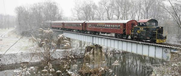Walkersville Southern Railroad Santa Train