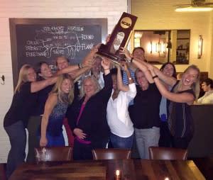NCAA Volleyball Trophy