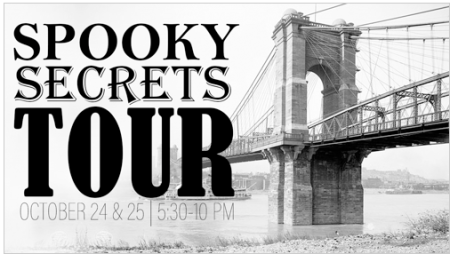 Spooky Secrets tour in Northern Kentucky October 24 & 25 2019