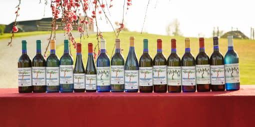 Bluegrass Vineyard wines