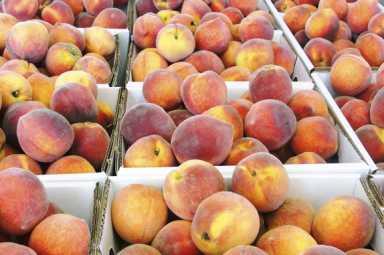 huffman's peaches