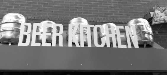 Beer Kitchen Sign