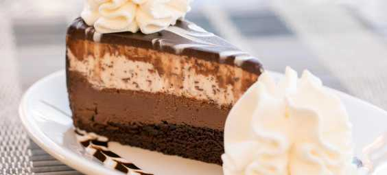 Cheesecake Tuxedo