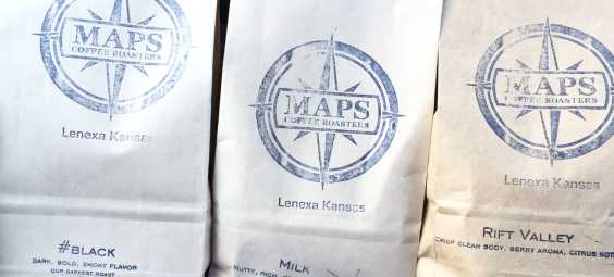 Bags of Maps Coffee