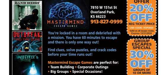 MastermindEscapeGames2020Coupon