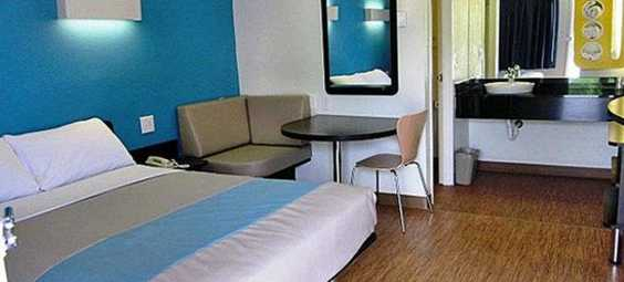 Motel Bed