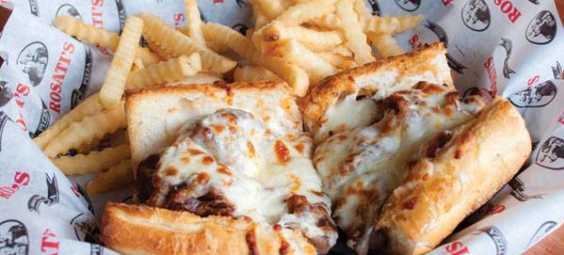 Rosati's sandwich