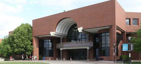 Exterior Carlson Center