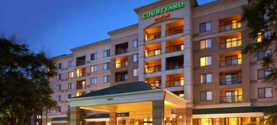 Courtyard Marriot Exterior