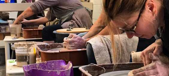 interurban arthouse pottery class