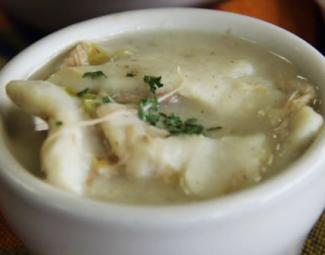 Chicken & Dumplings at Boogie & Tootsie's Deli