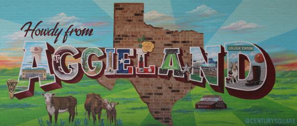 Aggieland Mural