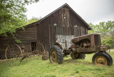 Farm Equipment at Reynolds Nature Preserve