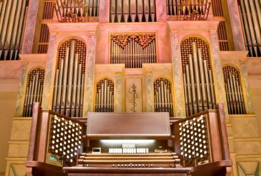 Spivey Hall organ