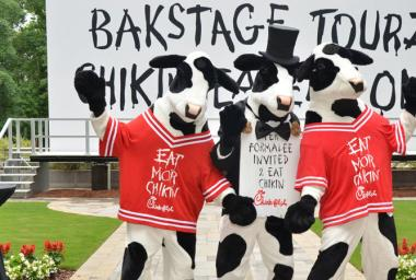Chick-fil-A Home Office Backstage Tour