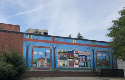 Mural in Pine Hills