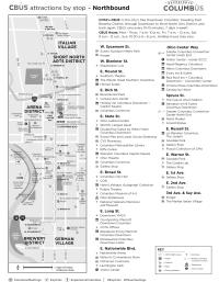 CBUS Attractions Map
