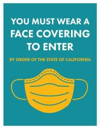 Wear Face Covering Flyer