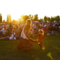 Winnipeg Folk Fest at Birds Hill