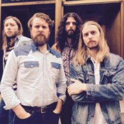 The Sheepdogs perform at 103rd Grey Cup Festival in Winnipeg, Manitoba