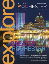 2018 Explore Greater Rochester guide cover