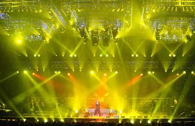 Yellow Lighting