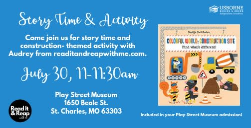 Play Street Museum Story Time
