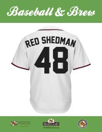 Red Shedman Maryland Brew Scorecard Jersey