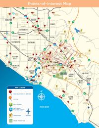 Where Is Irvine California On California Map.Irvine Maps Find Bikeways Hiking Trails Points Of Interest