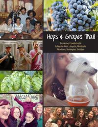 hops&  grapes trail brochure cover