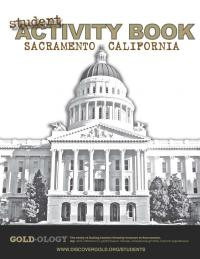 The Sacramento Student Activity Book features Gold Rush and Sacramento history, puzzles and more!