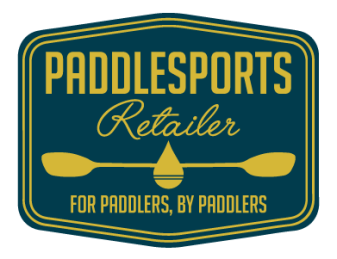Illustrated logo for Paddlesports Retailer